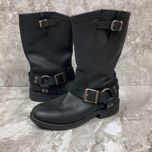Harley Davidson Motorcycle Harness Engineer Boots